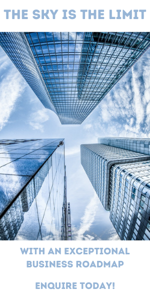 The sky is the limit with a Business Roadmap